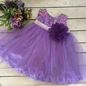 Other - Sparkly Baby flower girl dress